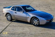 Porsche 944 TURBO S Silver rose - 1988 - Fantastic condition - Paint - Woowmotors Porsche 944, Turbo S, Gray Interior, Color Tile, Car In The World, Silver Roses, Car Ins, Classic Cars, Garage