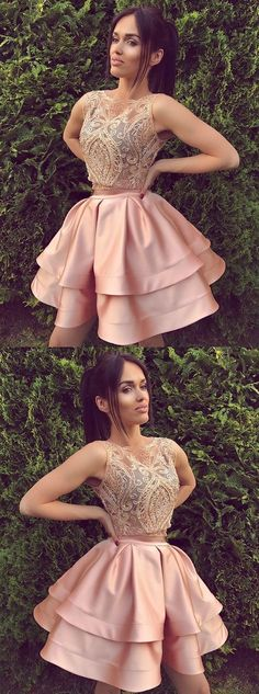 2017 homecoming dresses,pink homecoming dresses,unique homecoming dresses,prom dresses for teens,