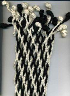 crochet lace scarf | make handmade, crochet, craft