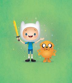 Finn and Jake - Adventure Time by Jerrod Maruyama, via Flickr