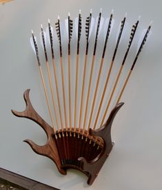 Archery Display Racks - Mason Woodworking
