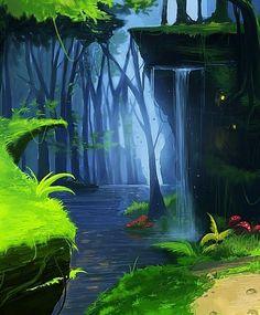 Tomb Raider - Environment concept art by Rahul Philip, via Behance