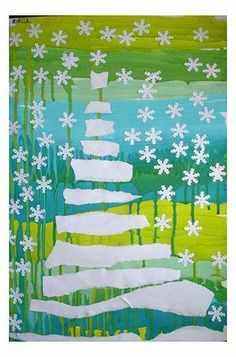 The Keys of the Kindergarten - Visual Arts Everyday - The World Around . Christmas Crafts For Kids To Make, Diy For Kids, Holiday Crafts, Christmas Mood, Noel Christmas, Classroom Art Projects, Theme Noel, Art Plastique, Kindergarten