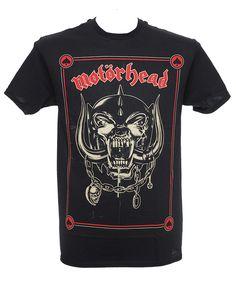 Motörhead - Propaganda Poster tee Heavy Metal Fashion, Metal Shirts, Band Shirts, Hard Rock, Men's Style, Menswear, Mens Fashion, Mens Tops, How To Wear