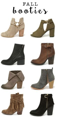 Fall Booties!