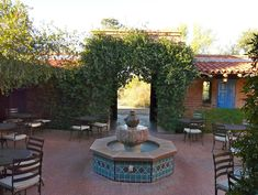 Enjoy breakfast with the birds at Tohono Chul Tea Room in Tucson, Arizona. When your meal is done, purchase admission for a walk through lovely desert gardens. Tohono Chul is a wonderful addition to your Tucson, Arizona, travel plans.
