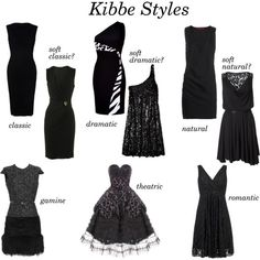 Kibbe silhouettes