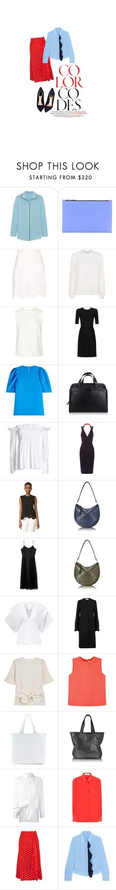 """Color Codes"" by marilu ❤ liked on Polyvore featuring Prada, Victoria Beckham, Victoria, Victoria Beckham, Miu Miu and Christian Dior"
