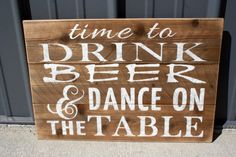 Wedding Reception Sign Pallet Sign Rustic Wedding Shabby Chic Handmade Handpainted Distressed Sign Western Wedding Barnboard Barnwood Sign