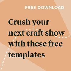 Zibbet (@zibbet) • Instagram photos and videos Craft Business, Creative Business, Business Ideas, Printable Crafts, Printables, List Template, Templates, Diffusion, Handmade Market
