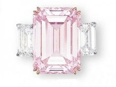 The Perfect Pink sold for $23.2 million. CLICK THE IMAGE to read the story of this astounding pink diamond ring.