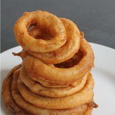 Easy Beer Battered Onion Rings