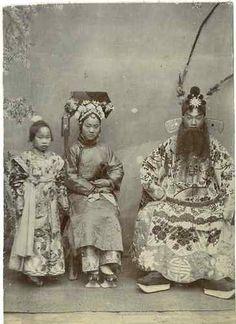 Chinese Actors, Beijing Opera