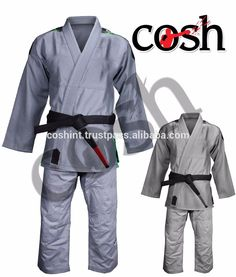 COSH International High Quality 100% Cotton BJJ Brazilian Jiu Jitsu Gi  Kimonos ,Uniforms Suits