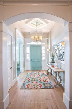 Splendid Freshen up your home with these gorgeous entryway ideas! From coastal to farmhouse and modern, these ideas will be sure to inspire you! See more on ablissfulnest.com/ #entrywayideas #entryway #entry The post Freshen up your home with these gorgeous entryway ideas ..