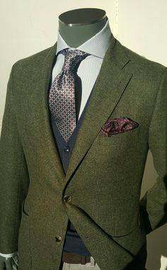 British Style — stile-italiano:   Tweed, Silk, Wool, Cotton in the...