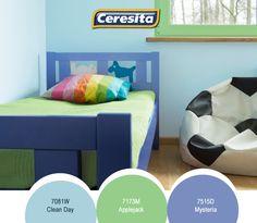 #CeresitaCL #PinturasCeresita #Color #Niños #Habitación #Infantil #Juegos #Pintura #Decoración #Hogar #Home #Deco #Tendencia #Estilo *Códigos de color sólo para uso referencial. Los colores podrían lucir diferentes, según calibrado de su monitor.