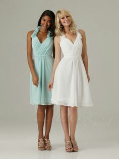 Cute bridesmaids dress