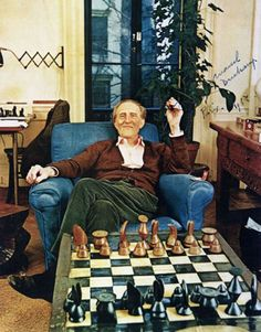 Marcel Duchamp and #chess