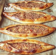 Minced Pita – Sinimini – Delicious Recipes – Famous Last Words Baking Recipes For Kids, Good Food, Yummy Food, Delicious Meals, Turkish Recipes, How To Cook Pasta, Thanksgiving Recipes, Cooking Time, Street Food