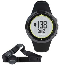 Suunto Men's M2 Watch Heart Rate Belt - Lime. Watch, Soft Flexible Heart Rate Belt , Easy to use, Basic Heart Rate Function.