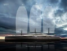 OceanCo's forthcoming 348-foot superyacht called Project Solar will demonstrate multiple energy-saving technologies.