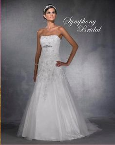 Symphony Bridal S2911. $870.