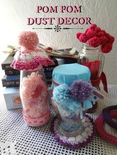 Little Treasures: Pom Pom Dust Decor