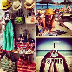 #summer #doca #greece #bags #hat Travel Around The World, Around The Worlds, Visual Merchandising, Greece, Hats, Summer, Summer Time, Hat, Grease