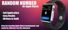 Random number generator for apple watch! This app generate a random number from 1 to user selected maximum input. Use slider to change the range value. Useful for different things, for example: choose a random contest winner.