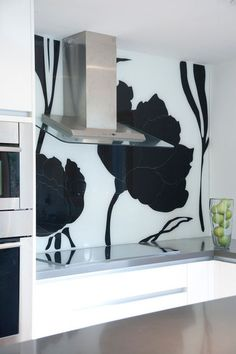 Glass in the kitchen