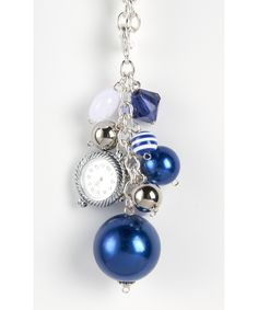 Bag Bling - Collegiate Blue - Purse Jewelry Watch Face Included #shoplately