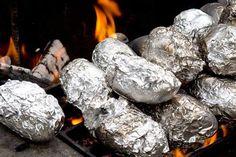 Πατάτες ψητές σε αλουμινόχαρτο – Greek Kouzina