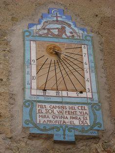 Reloj de sol- Clock of the sun