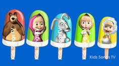 Masha and the Bear Ice Cream Finger Family / Nursery Rhymes and More Lyrics