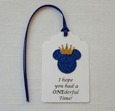 Blue Prince Mickey Mouse First Birthday by ImagineCelebrations
