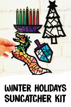 Craft Kits For Kids, Fun Games For Kids, Holiday Crafts For Kids, Diy For Kids, Christmas Crafts, Hanukkah Crafts, Kwanzaa, New Year's Crafts, Arts And Crafts