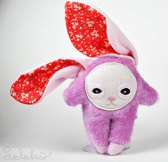soft toy ALMA/ hand made toys / bunny / stuffed toys/ spring toys
