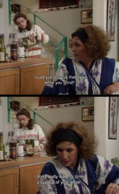 'Sweetie, daaaling, make mummy some coffee' British Sitcoms, British Comedy, Comedy Tv, Comedy Show, Patsy And Eddie, Haha Funny, Hilarious, Welsh, Jennifer Saunders
