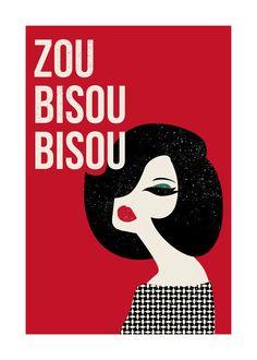 Zou Bisou Bisou by Tami Bohn