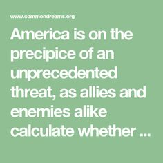 America is on the precipice of an unprecedented threat, as allies and enemies alike calculate whether they are dealing with a president they can please merely by enriching his children. President-elect Trump has a monumental choice before him: He can, as he promised during the campaign, protect the sanctity of the presidency—which he can do only by selling his company. Or he can remain corrupted by the conflicts between his country's future and his family's fortune.