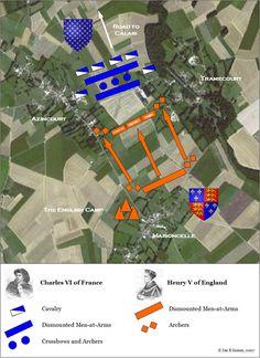 Agincourt Battle Map