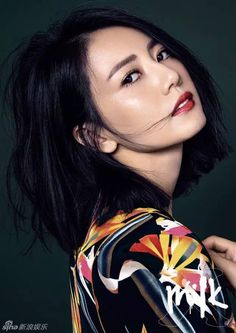 Chinese actress Gao Yuanyuan  http://www.chinaentertainmentnews.com/2016/01/gao-yuanyuan-covers-fashion-magazine.html