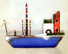 blue-5 little ship