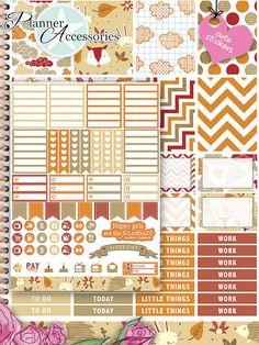 Sticker - 101 Stickers - ECLP Vertikal Wochen Kit SET022 - ein Designerstück von…