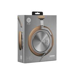 BeoPlay H6 Leder Over-Ear-Kopfhörer naturfarbenes Leder
