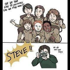 Steve Harrington, Mom Friend