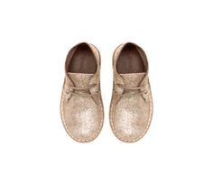 Metallic Leather Boot by Zara