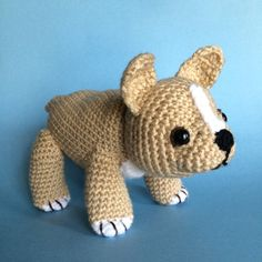 FRENCH BULLDOG PUPPY Pdf crochet pattern