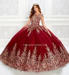 Quinceanera Dresses Maroon, Mexican Quinceanera Dresses, Dama Dresses, 15 Dresses, Event Dresses, Red Ball Gowns, Tulle Ball Gown, Tulle Lace, Colors